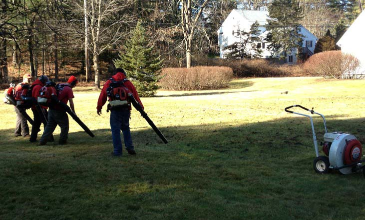 Best lawn care in lapeer lapeer lawn care for Fall yard clean up checklist